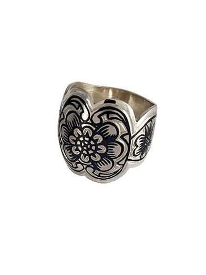 Кольцо из серебра - фото 23066