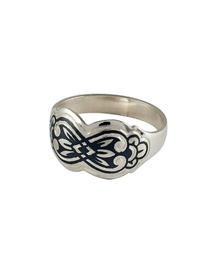 Серебряное кольцо - фото 23067