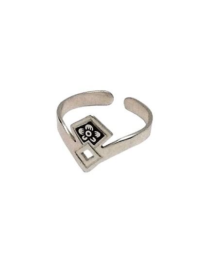 Серебряное кольцо - фото 23070
