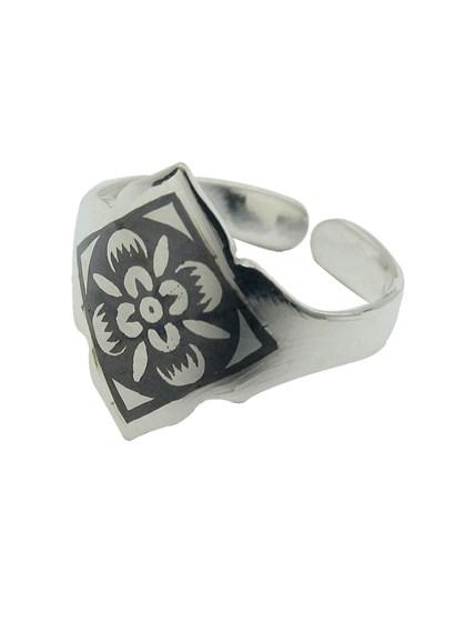 Серебряное кольцо - фото 23071