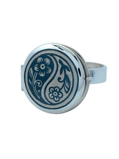 Кольцо серебряное - фото 23089