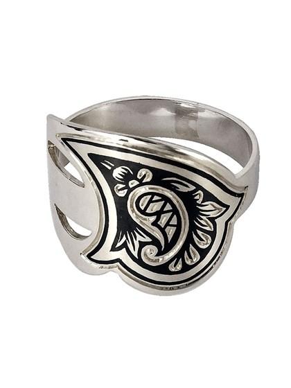 Серебряное кольцо - фото 23096