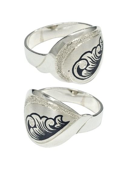 """Кольцо из серебра """"Миледи"""" - фото 23100"""