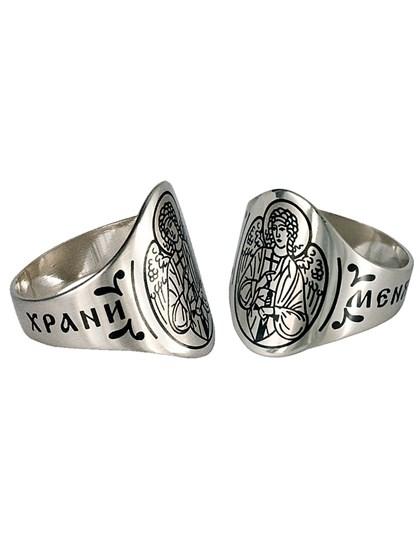 """Серебряное кольцо """"Ангел-хранитель"""" - фото 23103"""