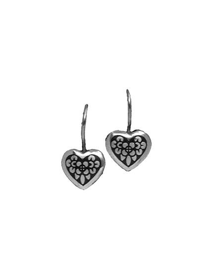 Серьги серебряные - фото 23161