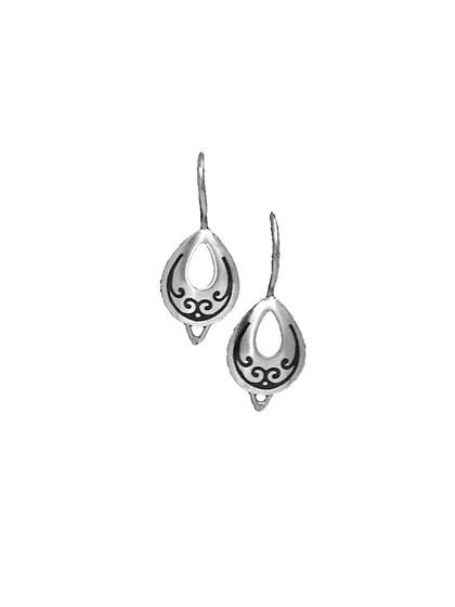 Серьги серебряные - фото 23162