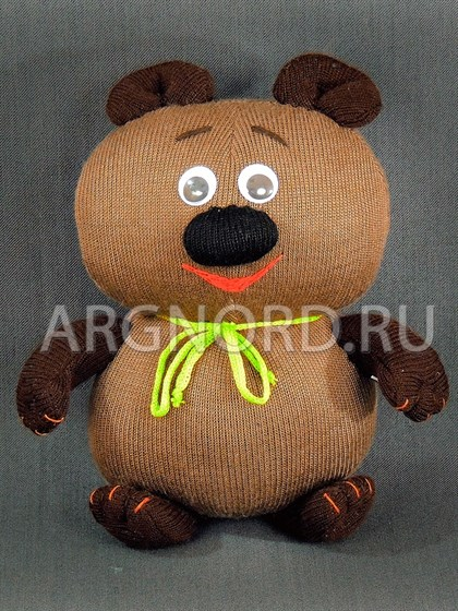 """Игрушка льняная """"Винни-Пух"""" - фото 23186"""