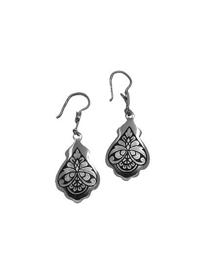 Серебряные серьги - фото 23209