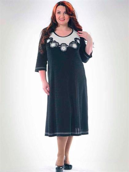 Платье с вышивкой - фото 35527
