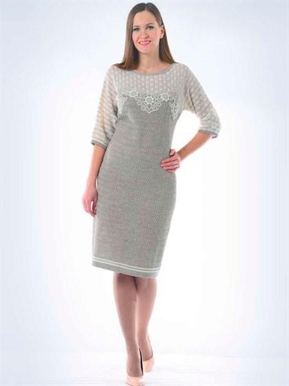 Женское льняное платье - фото 23295