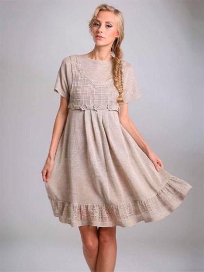 Платье изо льна - фото 23334