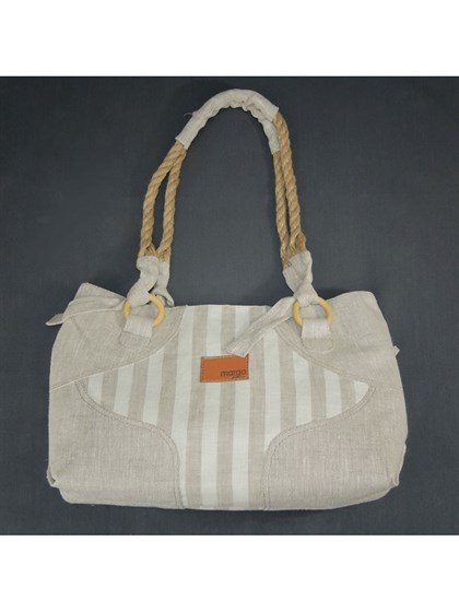 Льняная сумка - фото 23352
