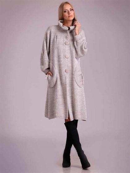 Льняное пальто - фото 23364