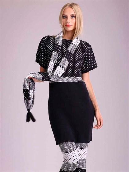Платье льняное - фото 23398