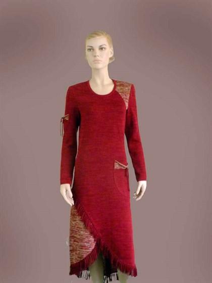 Льняное платье - фото 23581