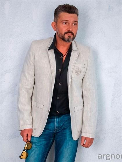 Пиджак льняной - фото 23785