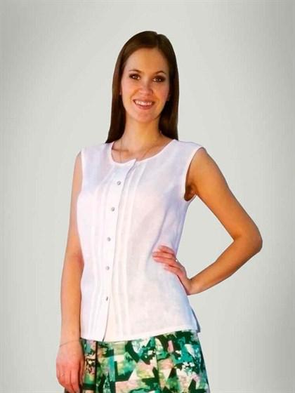 Блуза льняная - фото 24041