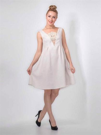 Платье с Вологодским кружевом - фото 24082