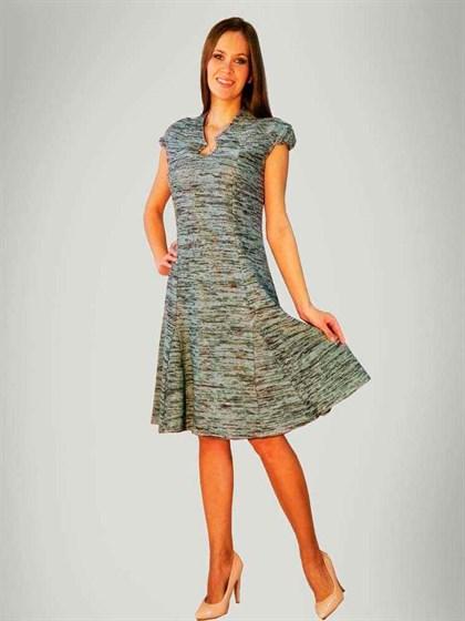 Льняное платье - фото 24089
