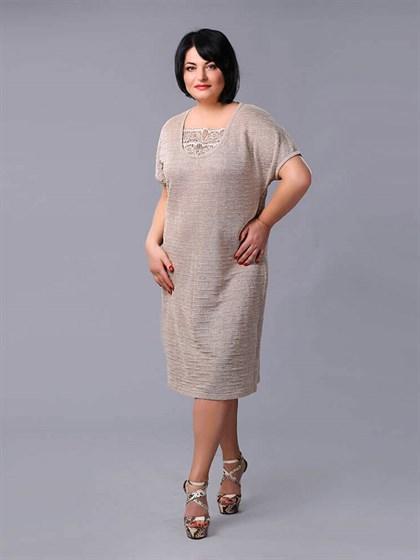 Платье изо льна - фото 24132