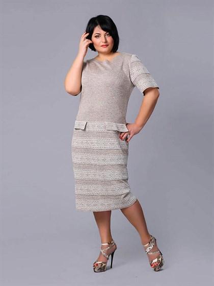 Платье льняное - фото 24142