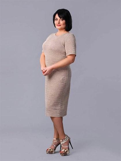Платье льняное - фото 24147