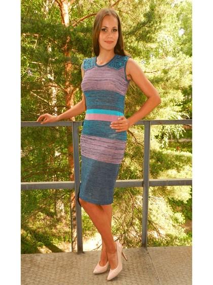 Платье изо льна - фото 24276