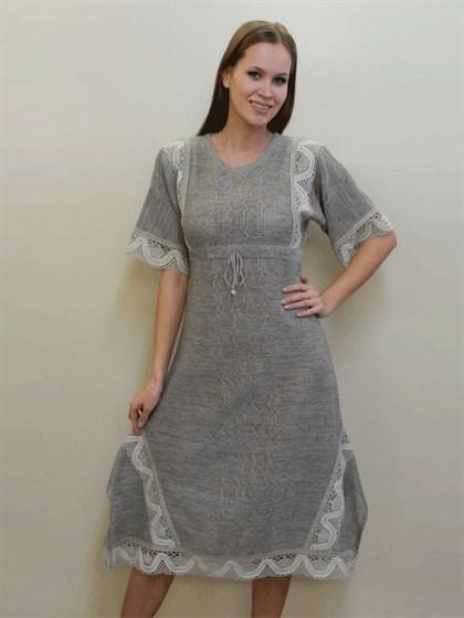 Платье из натурального льна - фото 24333