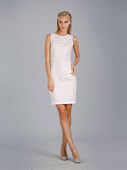 Платье с кружевом - фото 24407