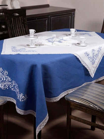 Комплект столового белья льняной - фото 24534