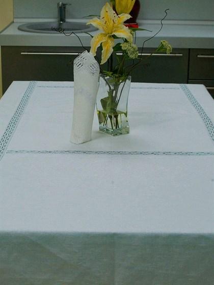 Комплект столового белья изо льна - фото 24540