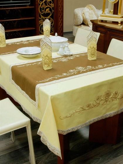 """Комплект столового белья """"Ирисы"""" - фото 24545"""