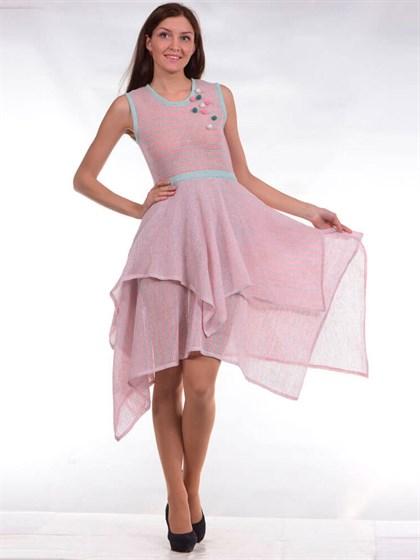 Платье льняное - фото 24677