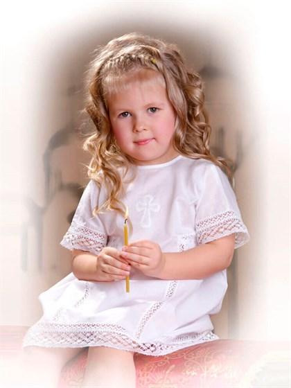 Крестильный детский комплект - фото 24713