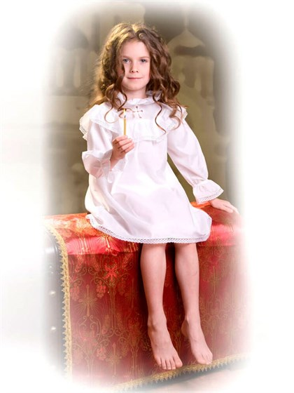 Сорочка крестильная детская - фото 24715