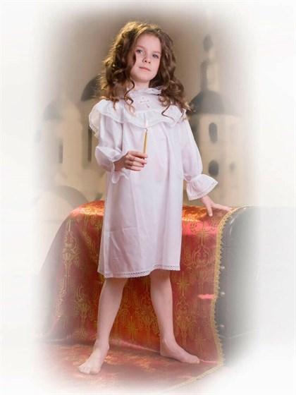 Сорочка детская крестильная - фото 24719
