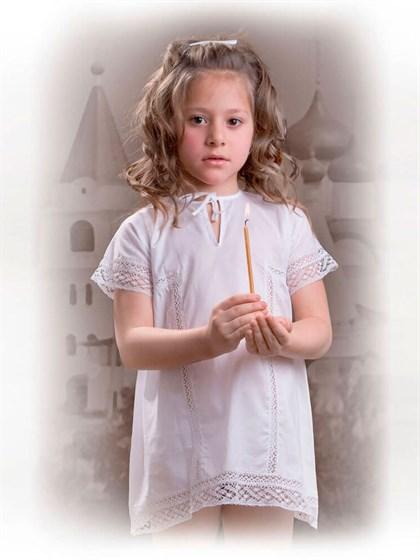 Крестильный детский комплект - фото 24720