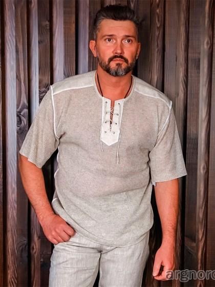 Рубашка льняная - фото 24767
