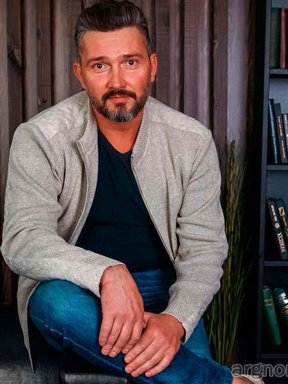 Куртка мужская изо льна - фото 24791