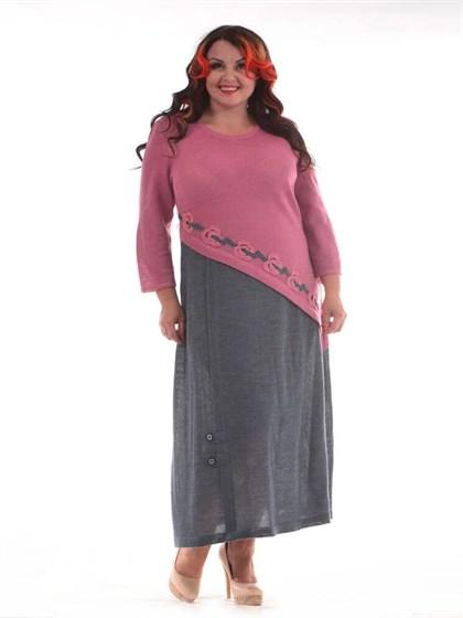 Длинное платье изо льна - фото 24808