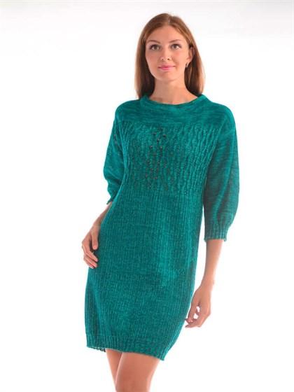 Платье изо льна - фото 24817