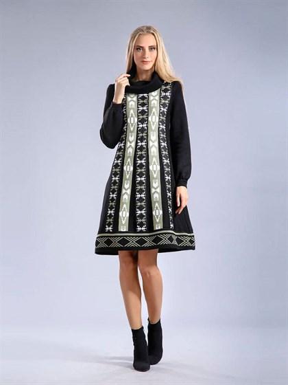 Платье из полушерсти - фото 24856