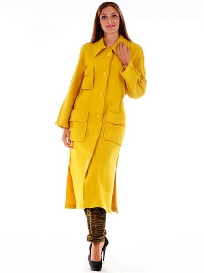 Пальто из вареной шерсти - фото 24892