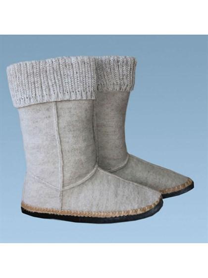 Обувь валяные для дома - фото 24900