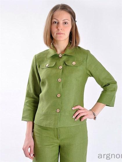 Блуза изо льна - фото 25078