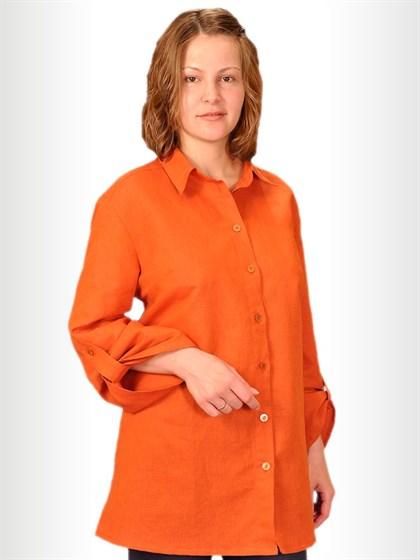 Блуза льняная - фото 25148