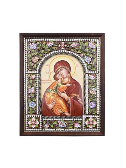 Икона Владимирская Пресвятой Богородицы - фото 25281