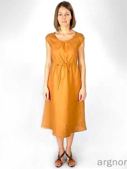 Платье изо льна - фото 25414