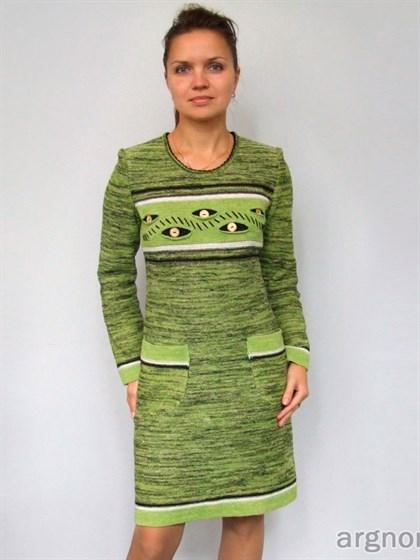 Платье с карманами - фото 25559