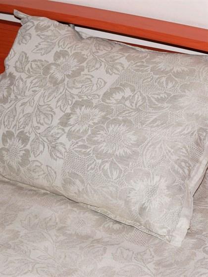 ЭКО подушка из льна 50*70 - фото 25675